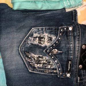 Miss Me jeans skinny size 31x31